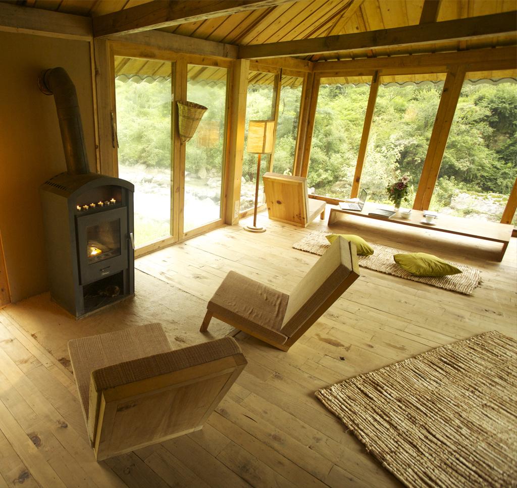 Eco-Lodge - Living area