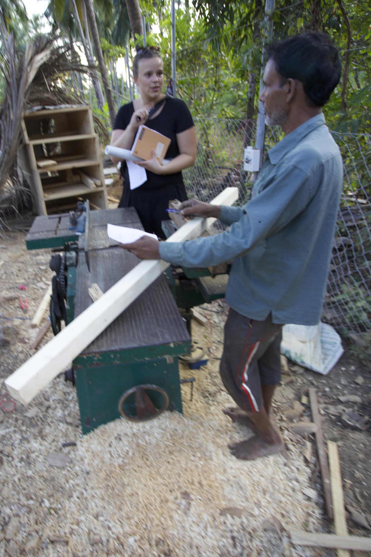 Volunteers at Shunya Chi